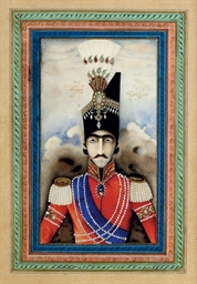 Portrait of Nasir Al-Din Shah