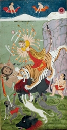 The Durga Slays Mahisha