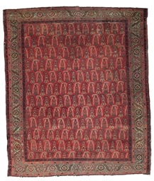 AN UNUSUAL SERABAND CARPET
