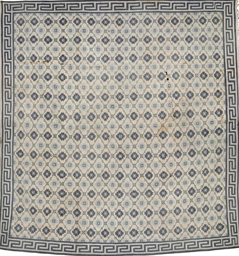 AN INDIAN COTTON DHURRIE
