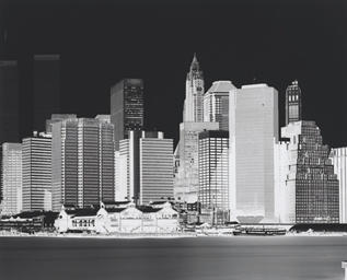 Untitled (Manhattan Skyline)