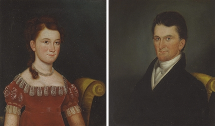 Pair of Portraits of Robert Cl