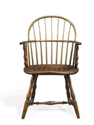 A Windsor Sack-Back Armchair