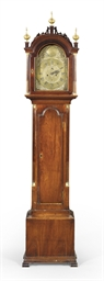 A Chippendale Mahogany Tall-Ca