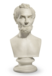 A Parianware Bust of Abraham L