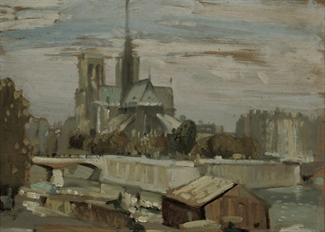 Notre Dame from the Left Bank