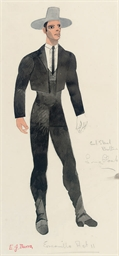 Costume Design for Escamillo A