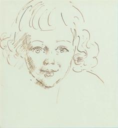 Tristan de Vere Cole aged two