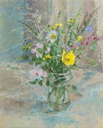 Wild Flowers with Welsh Poppy