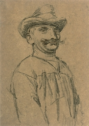 A Gondolier (Front View)