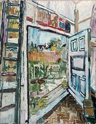 View through Studio Doorway in