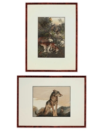 A SET OF EIGHT CHROMOLITHOGRAP