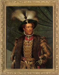 Portrait of a nobleman, half-l