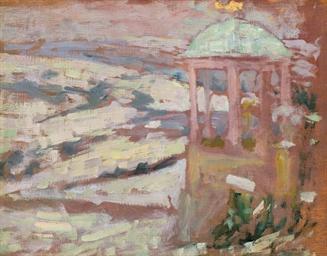 Le temple d'amour, neige, Gerb