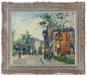 A quiet Parisian street