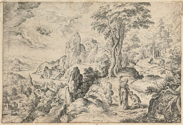 Landscape with Abraham's Sacri