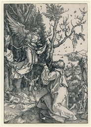 Joachim and the Angel, plate 3