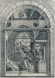 The Annunciation, plate 8 from