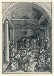 Christ among the Doctors, plat
