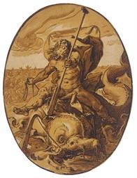 Neptune (Bartsch 232; Hollstei