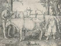 The Milkmaid (Bartsch, Hollstein 158)