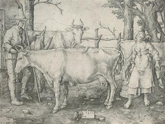 The Milkmaid (Bartsch, Hollste