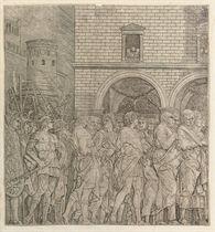 The Senators, from the Triumph of Julius Caesar (Bartsch 11)