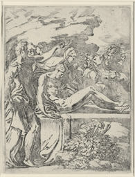 The Entombment (Bartsch 5 I)