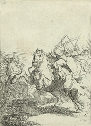 The Cavalry Fight (Bartsch, Ho