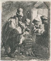 Strolling Musicians (Bartsch,