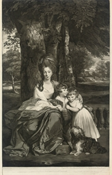 Lady Betty Delme and her child
