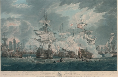 The Battle off Trafalgar