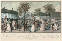 Promenade du Jardin du Palais Royal; and Promenade de la gallerie du Palais Royal