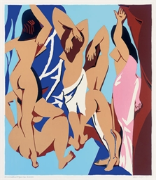 Les Demoiselles d'Avignon vues