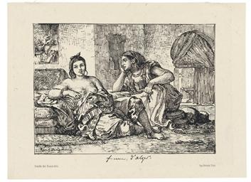 Juive d'Alger (Delteil 18)