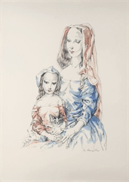 Femme et Enfant (Buisson 64.25