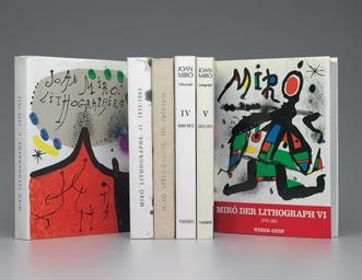 Joan Miro Lithographs Vols I-V