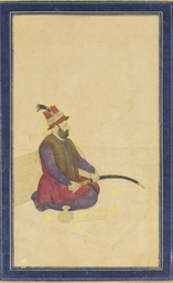 A PORTRAIT OF NADIR SHAH