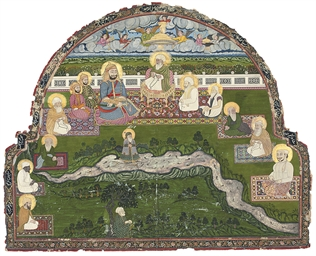 THE HOLY FAMILY WITH SUFIS