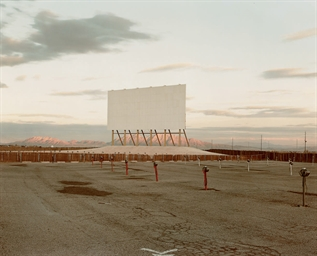 Drive-In Theatre, Las Vegas, 1