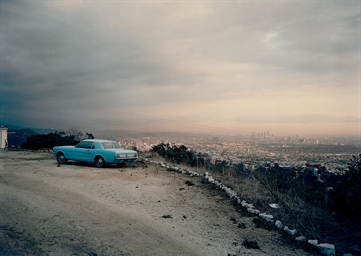 Blue Mustang, 1978, from the s