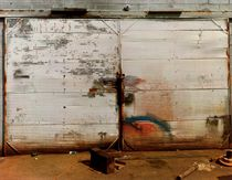 Door of Auto Repair Shop, Near Tuscaloosa, Alabama, 1981