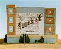 Sunset Drive In, West 9th Avenue, Amarillo, Texas, 1974