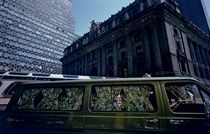 Customs House, Green Van, #1 Broadway, New York City, 1976