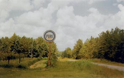 Pure Oil Sign in Landscape, Ne