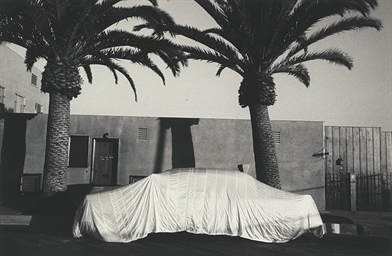Covered car - Long Beach, Cali