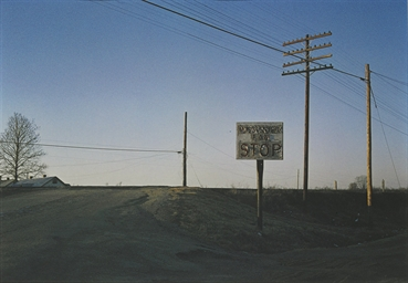 Untitled (Stop Sign), 1973