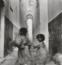 Running Children, Morocco, Rab