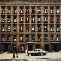 New York City (Girls in Windows), 1960