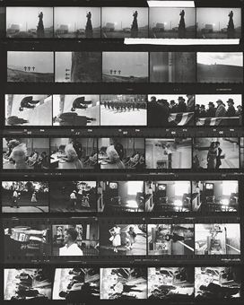 Contact sheet, The Americans, 1955-56